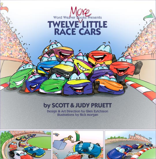 Twelve More Little Race Cars